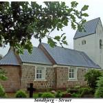 Søndbjerg og Odby Kirker danner rammen for seks solnedgangsgudstjenester sommeren igennem. Hver onsdag kl. 21:00.